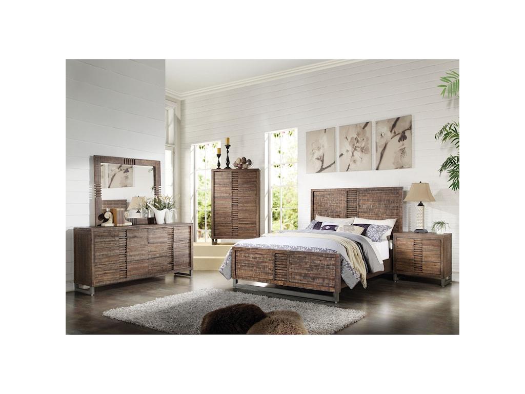Acme Furniture AndriaKing Bedroom Group
