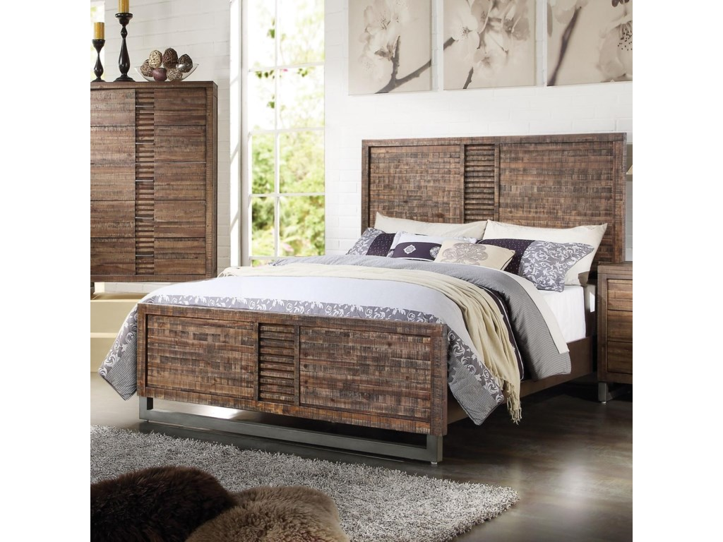 Acme Furniture AndriaKing Bed