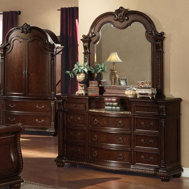 Shown with Dresser