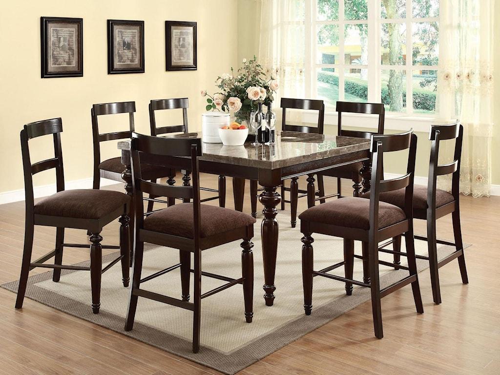 Acme Furniture BandeleCounter Height Chair