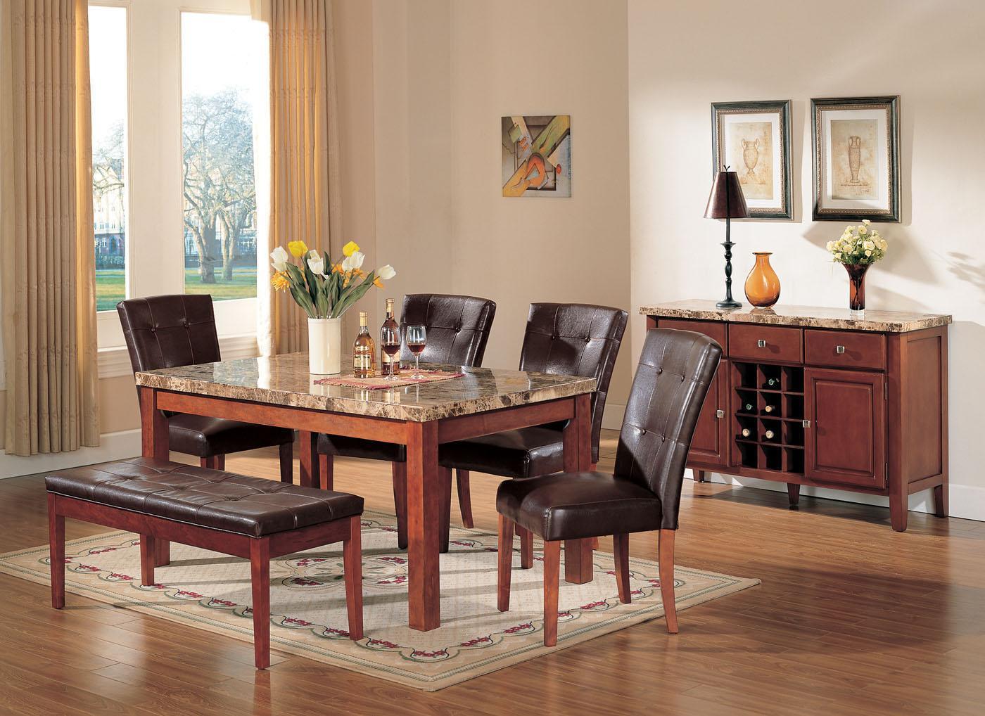 Acme Furniture BolognaBologna Dining Set