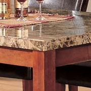 Faux Marble Top.