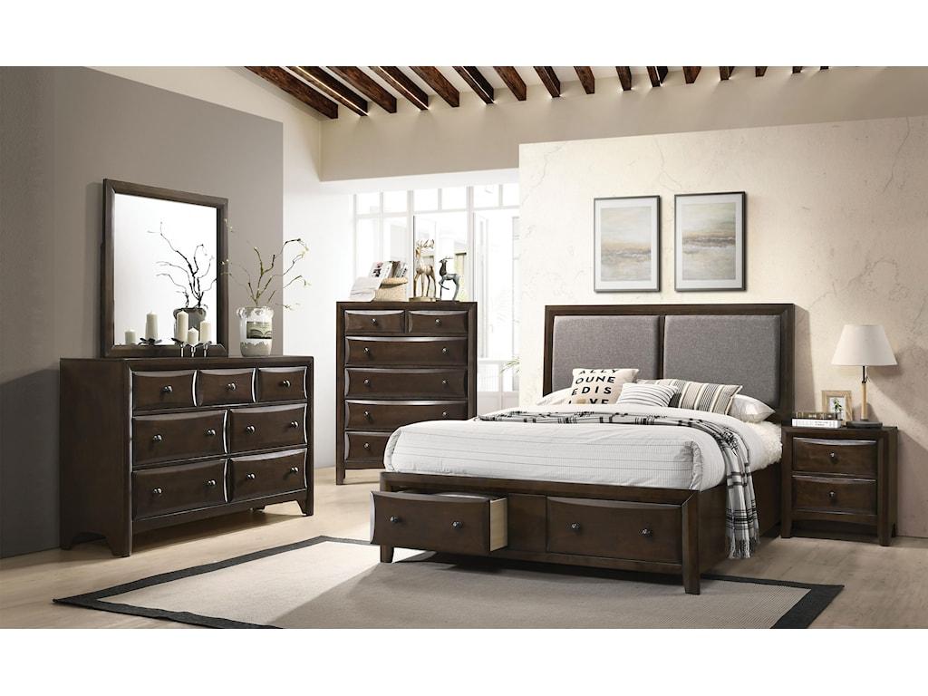 Brenta Transitional Queen Bedroom Set
