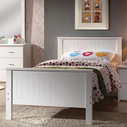 Acme Furniture Bungalow Casual Twin Panel Bed