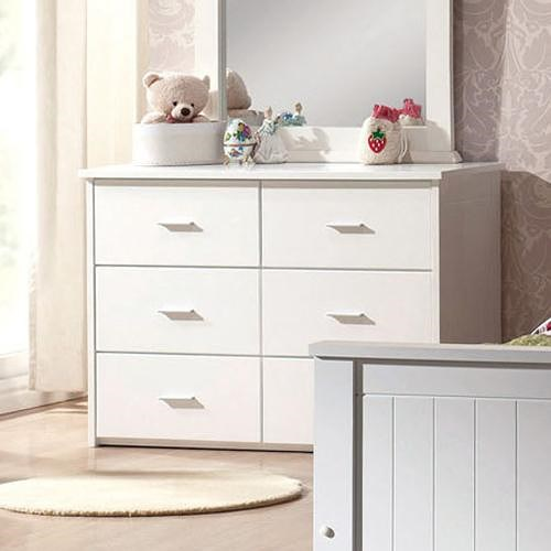 Acme Furniture Bungalow Casual Six Drawer Dresser
