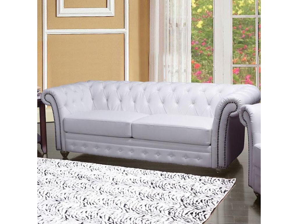 Acme Furniture Camden2-Seater Stationary Sofa