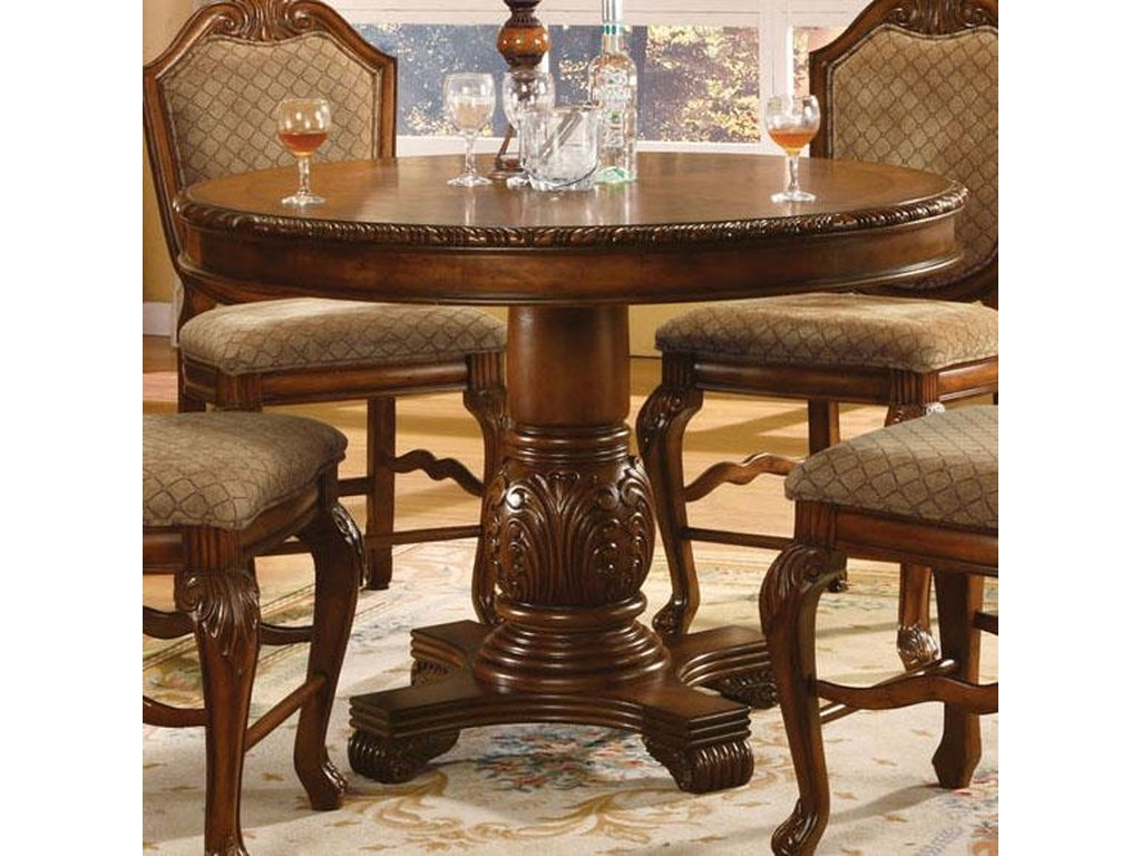 Acme Furniture Chateau De Ville 04082 Round Top Counter Height Table