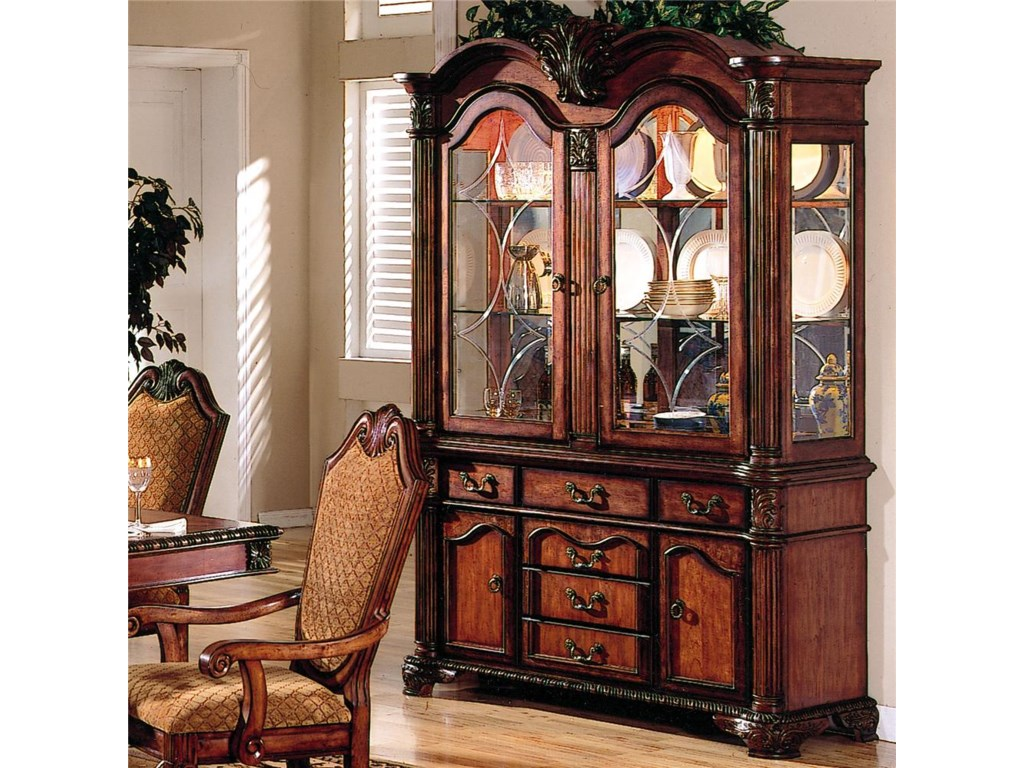 Acme Furniture Cau De Villebuffet With Hutch