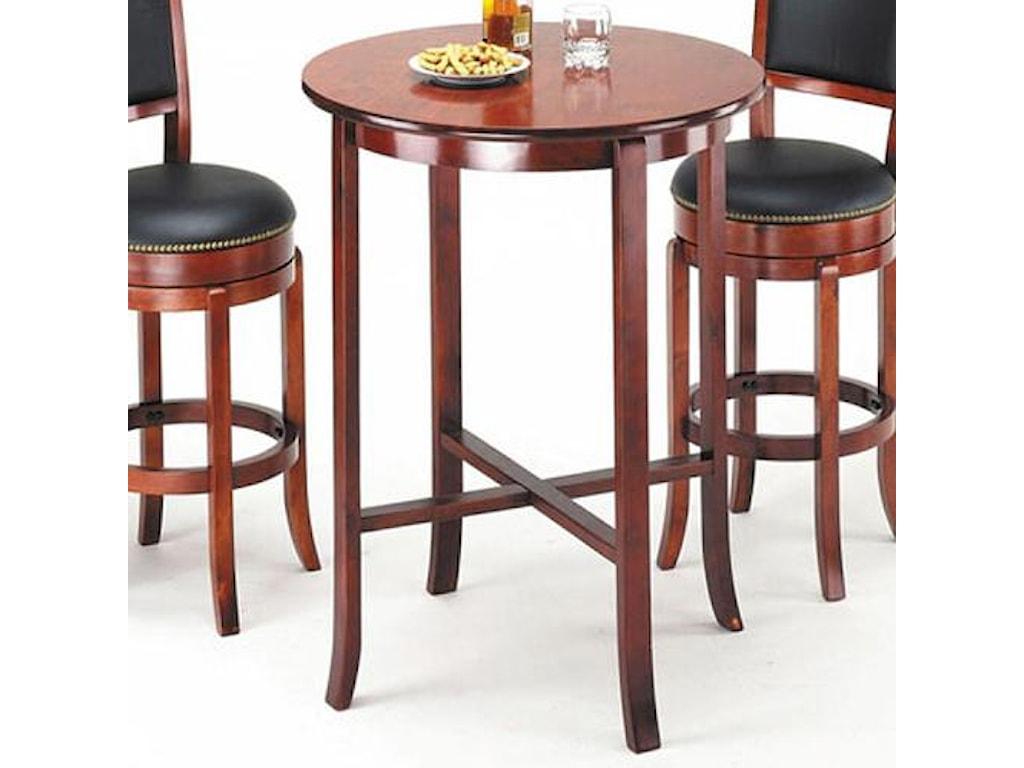 Acme Furniture Chelseaoak Bar Table