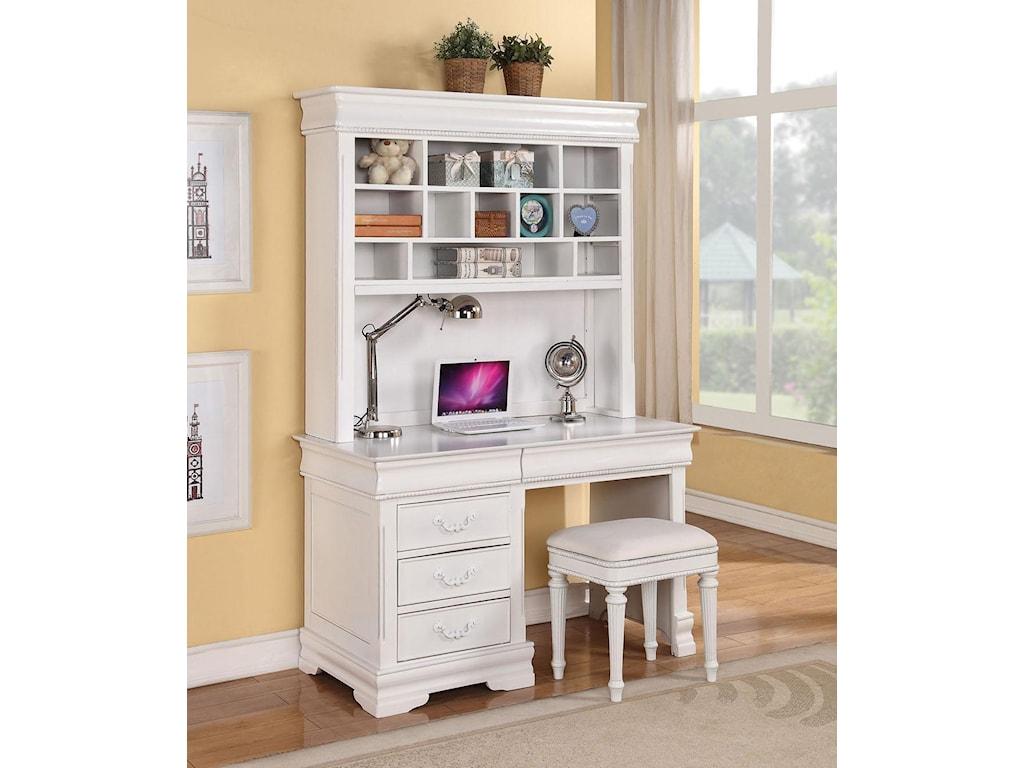Acme Furniture ClassiqueDesk & Hutch