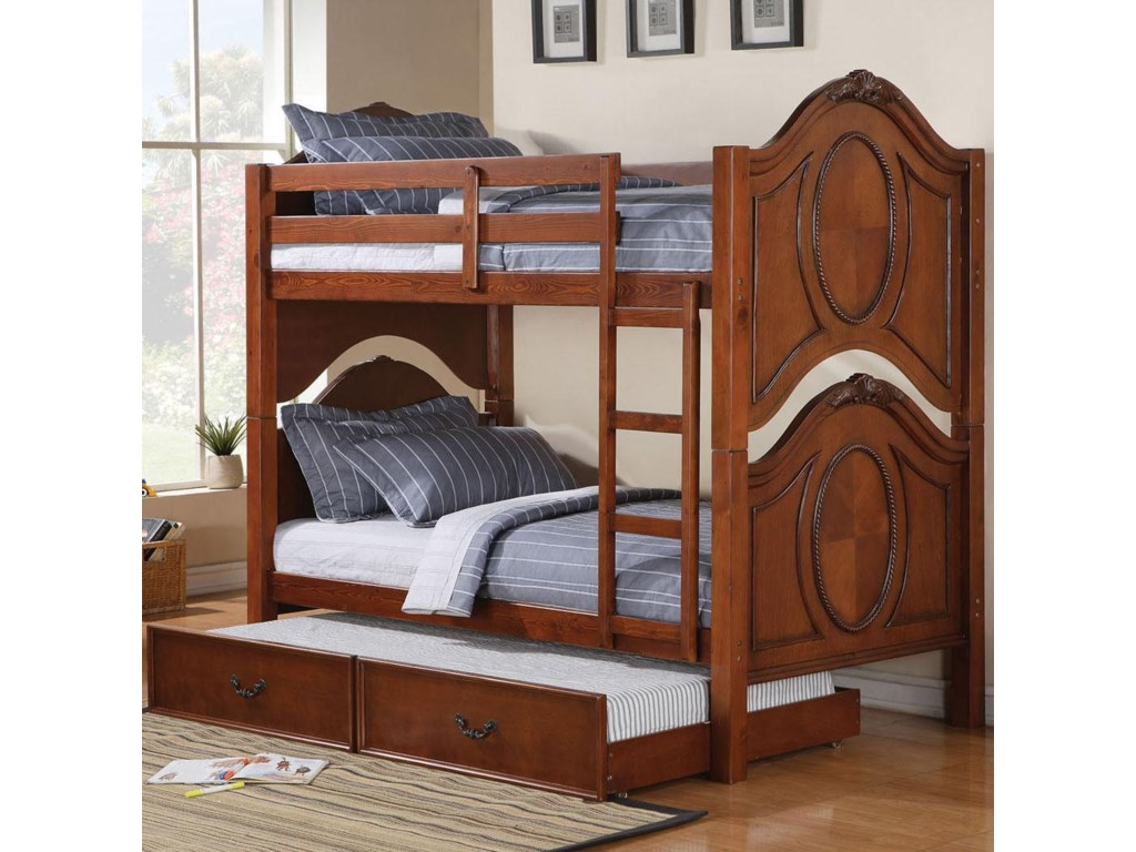 Acme Furniture ClassiqueBunkbed with Trundle
