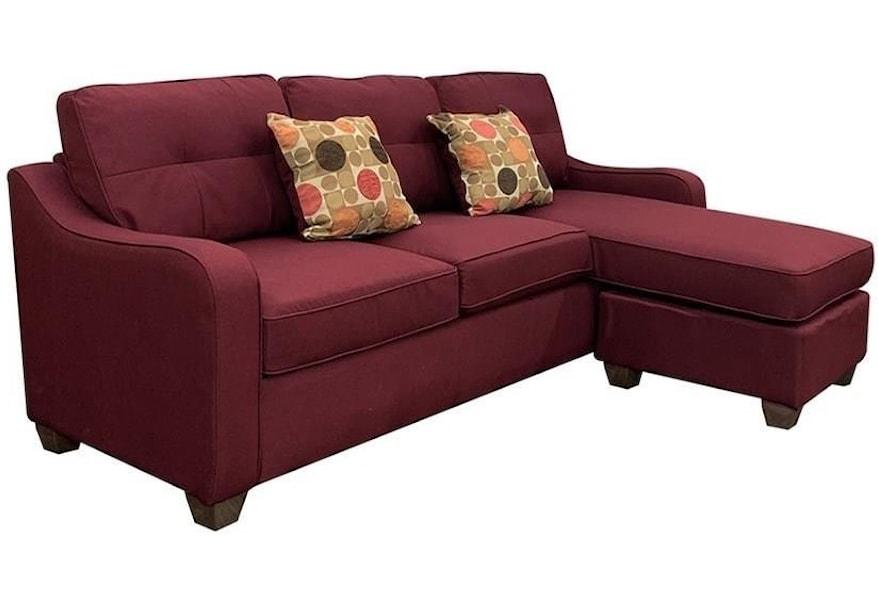 cleavon ii sectional sofa rev chaise 2 pillows