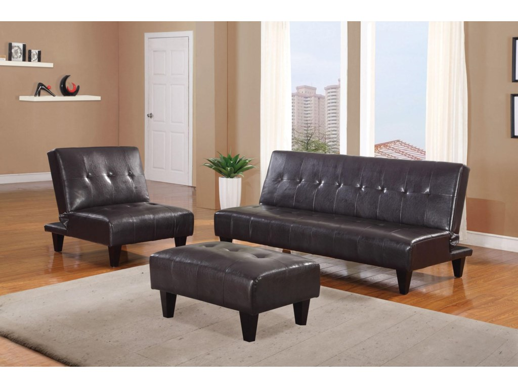 Shown with Chair and Adjustable Sofa