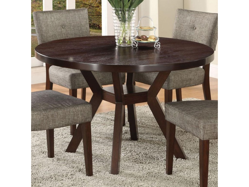 Acme Furniture Drake Espresso Modern Dining Table With Round - Drake coffee table