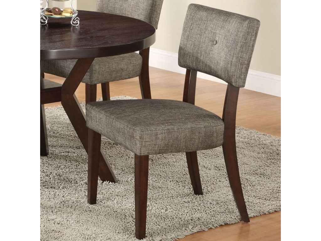 Acme Furniture Drake Espresso Modern Dining Side Chair With
