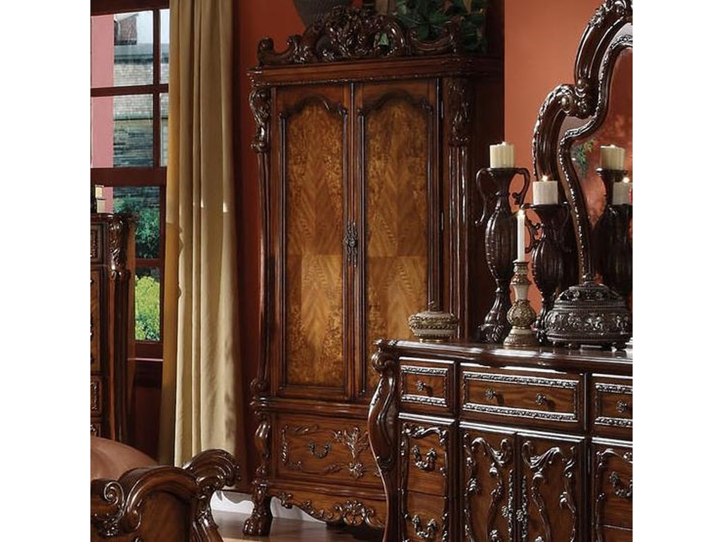 Dresden Television Armoire By Acme Furniture At Rooms For Less