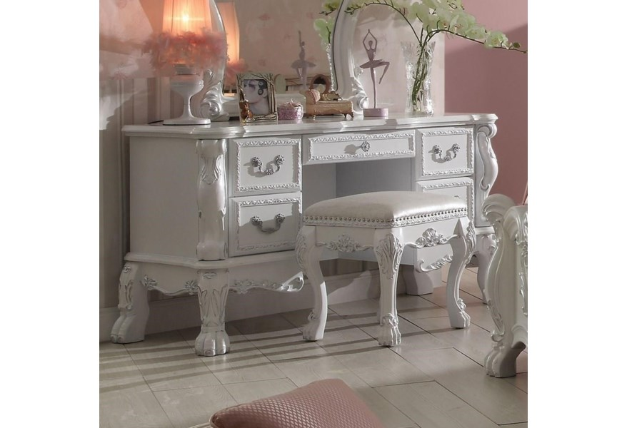 Acme Furniture Dresden Traditional European Style Kid\'s ...