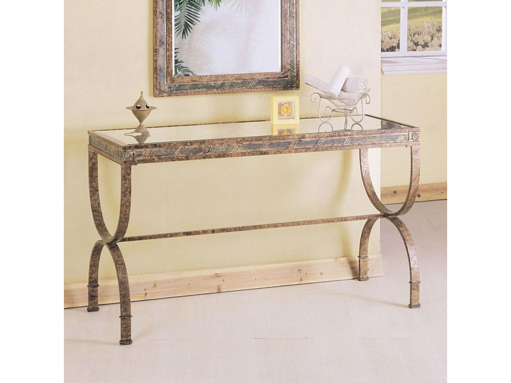 Acme furniture egyptian rectangular console table with glass table acme furniture egyptian rectangular console table with glass table top household furniture consolesofa table geotapseo Image collections