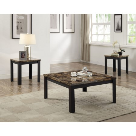 Coffee End Table 3 Pack Set