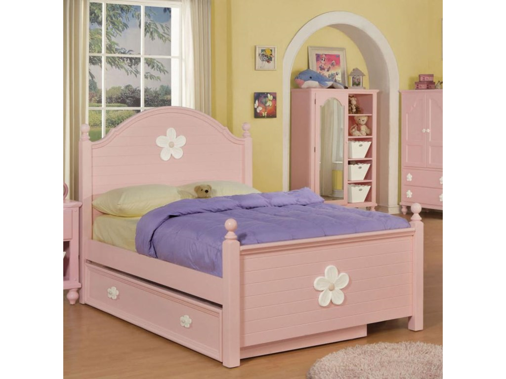 Bed Shown May Not Represent Size Indicated; Trundle Sold Separately