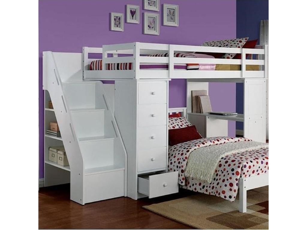 Acme Furniture FreyaLoft Bed