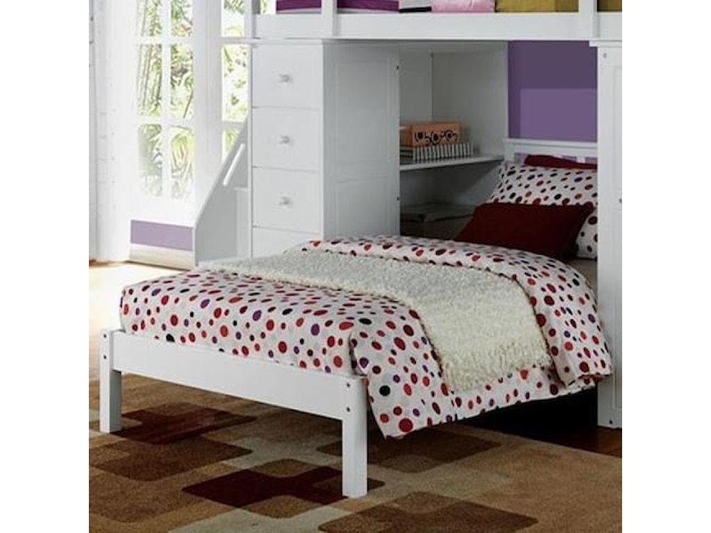 Acme Furniture Freya 37152 Twin Bed | Corner Furniture | Panel Beds