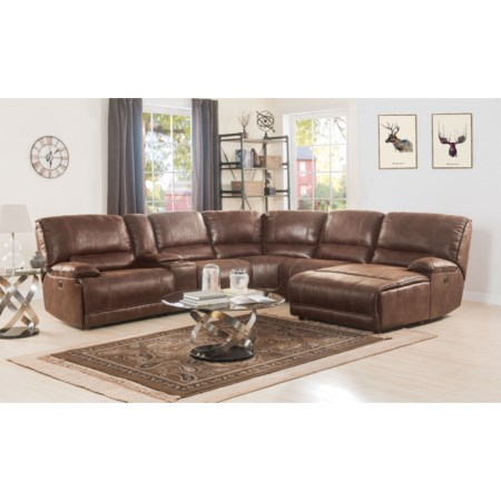 Sectional Sofa (Power Motion)