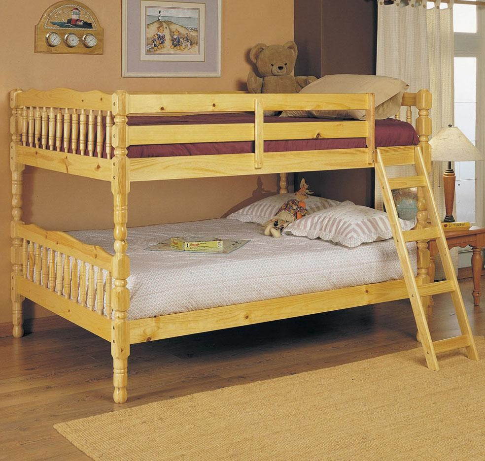 Acme Furniture Homestead Natural Full Size Bunk Bed Dream Home