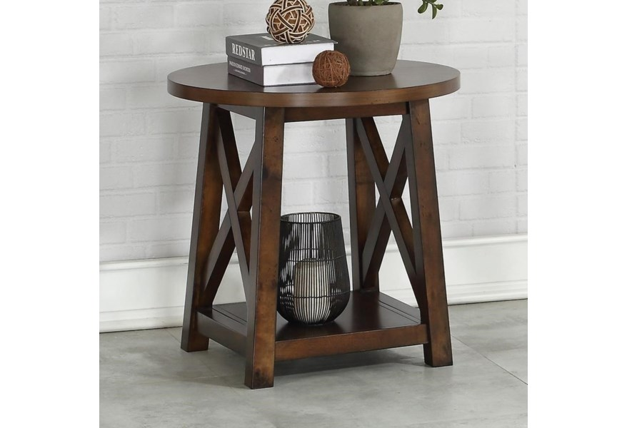 Acme Furniture Kayson 81237 Transitional End Table With Bottom Shelf Nassau Furniture And Mattress End Tables