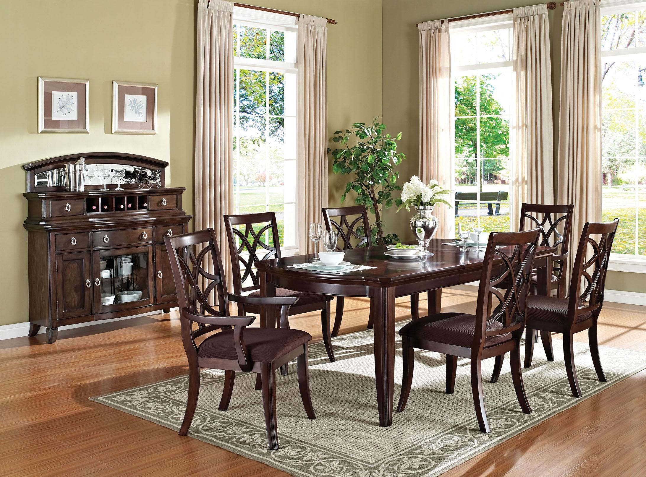 ... Acme Furniture KeenanTransitional Dining Table And Chair Set
