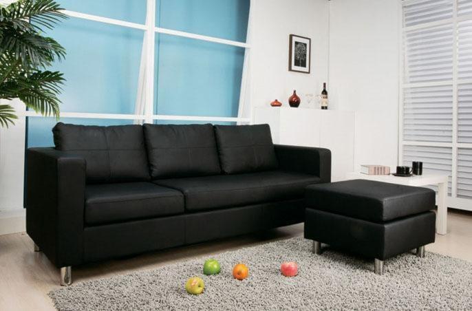 Converted Into Sofa and Ottoman