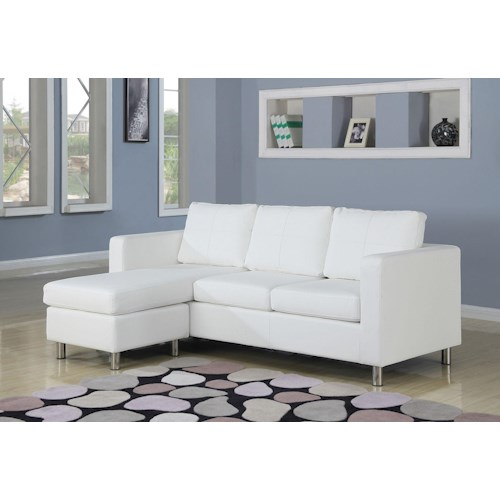 Acme Furniture Kemen Reversible Chaise Sectional