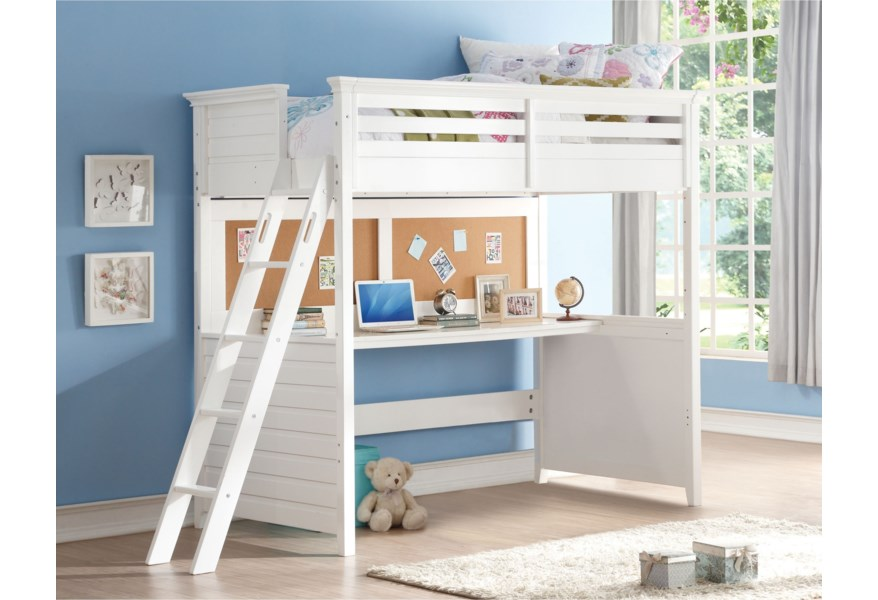 Lacey Twin Loft Bed
