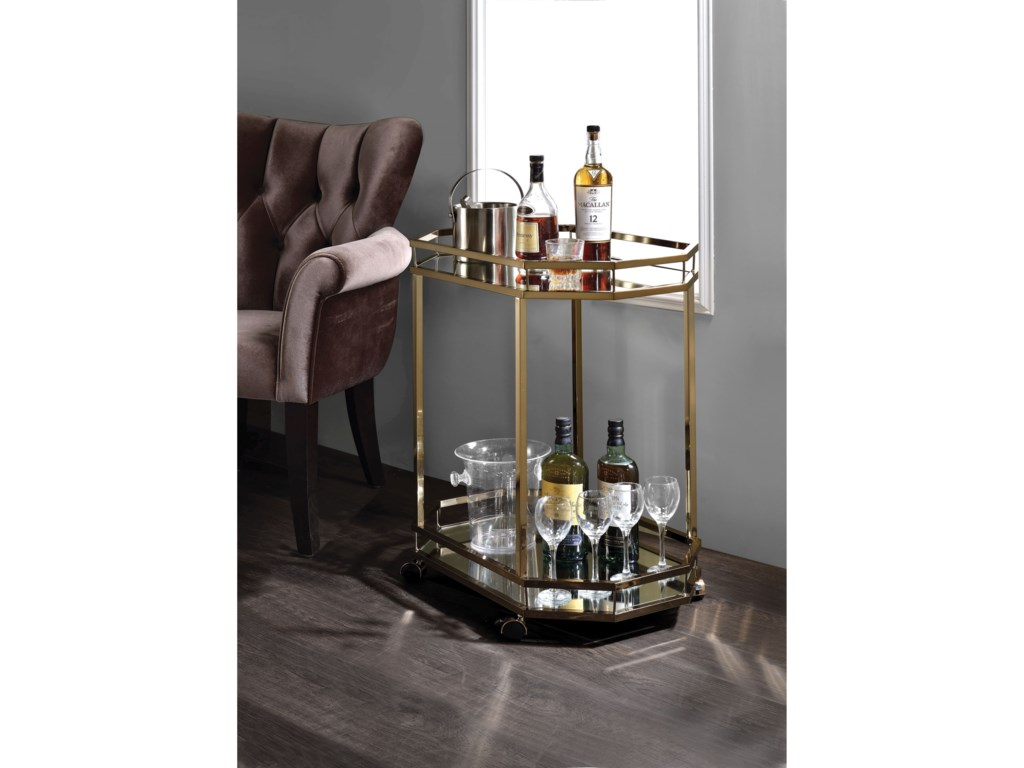 Acme Furniture LacoleServing Cart
