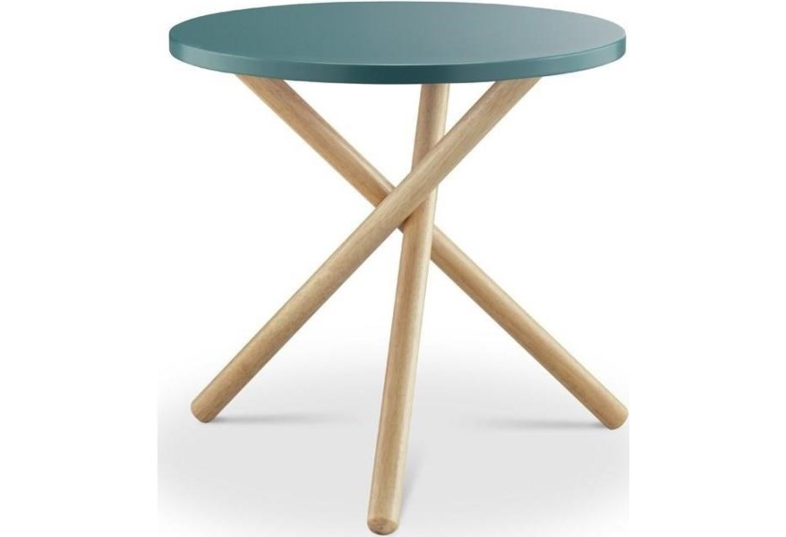 Acme Furniture Lanica 82895 Mid Century End Table With Tripod Base Nassau Furniture And Mattress End Tables