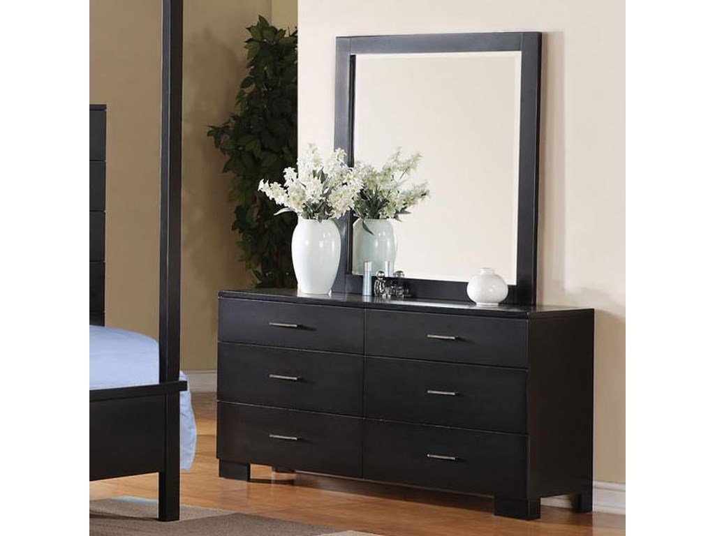 Acme Furniture LondonDresser and Mirror Combo