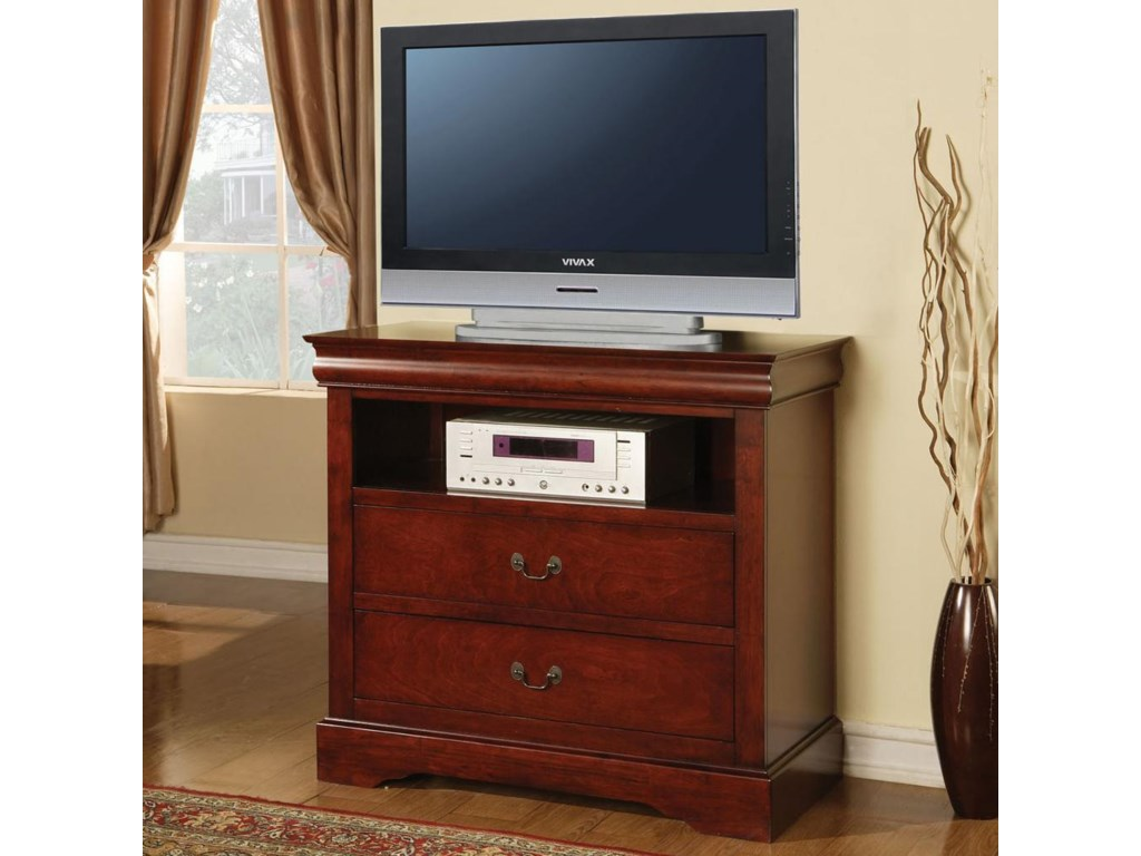 Acme Furniture Louis Philippe IIITV Console