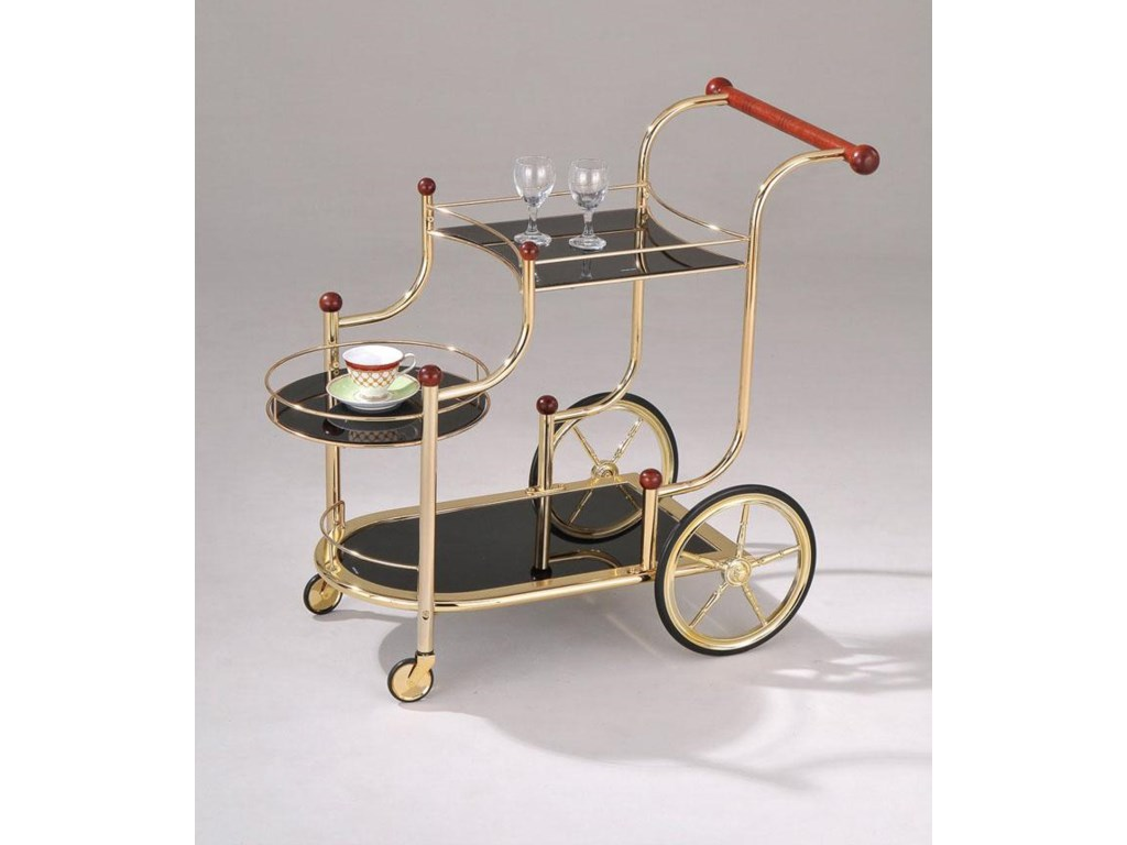 Acme Furniture MaceGold Serving Cart