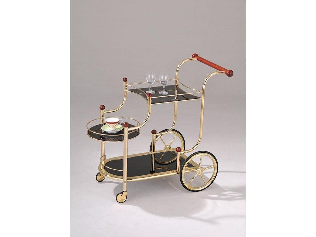 Acme Furniture MaceGold Serving Cart