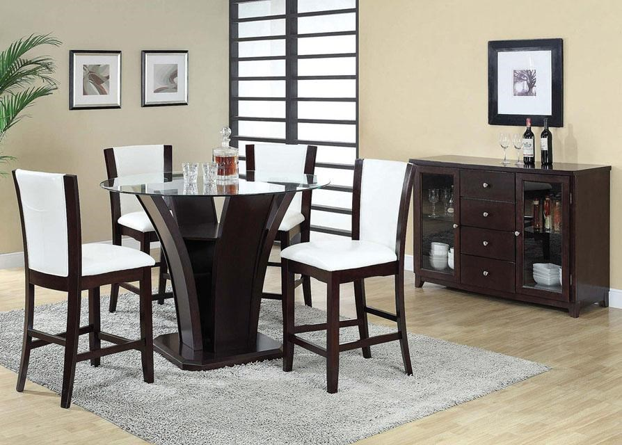 Shown with 5-Piece Counter Height Set