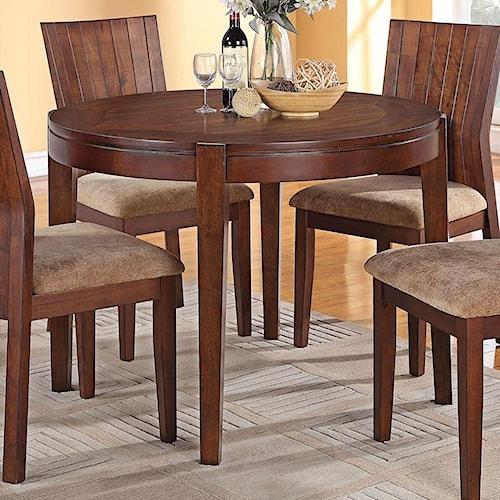 Acme furniture mauro round dining table nassau