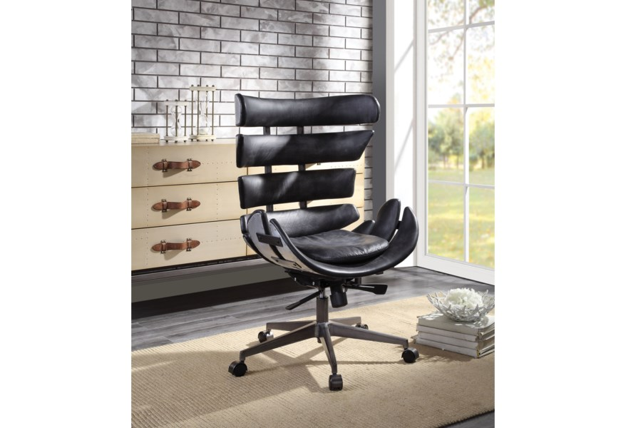 Acme Furniture Megan Contemporary Office Chair with Top Gran