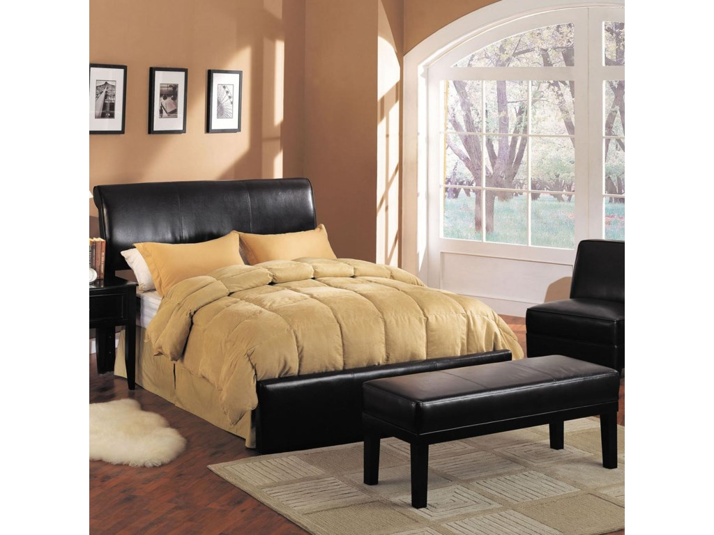 Shown with Headboard and Footboard