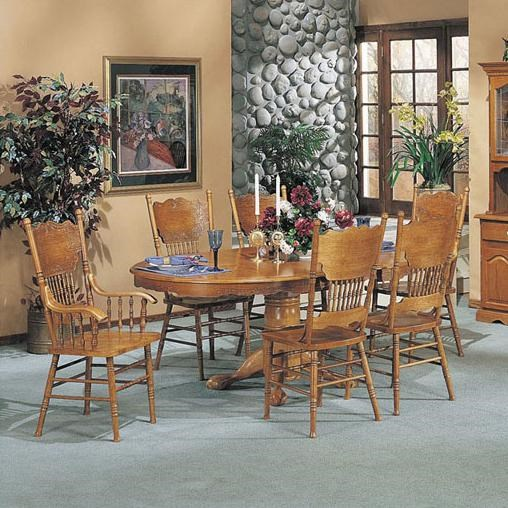 Shown in 7-Piece Dining Set