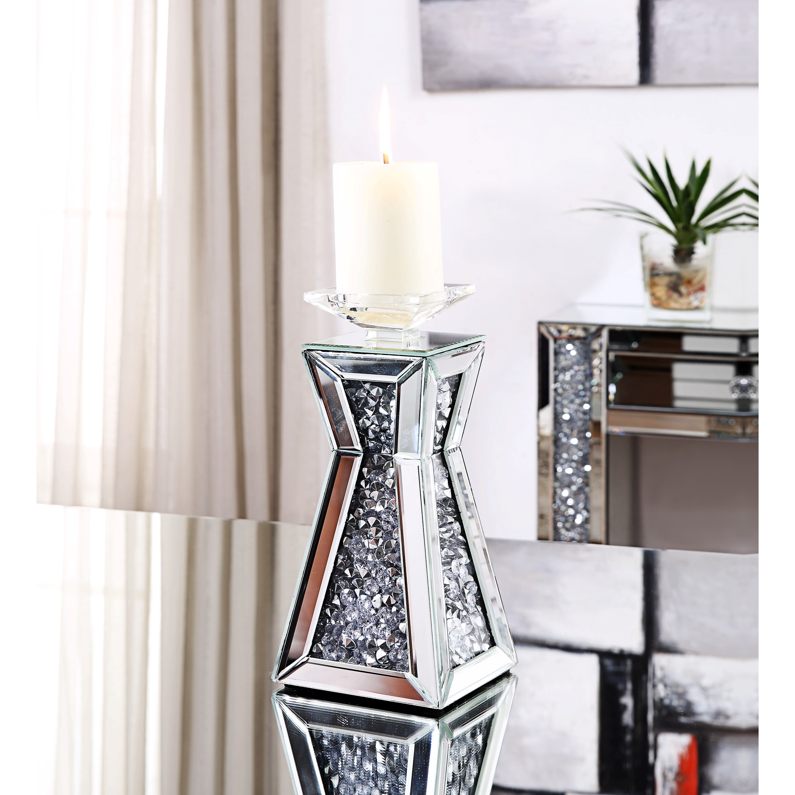 Glam Accent Candleholder
