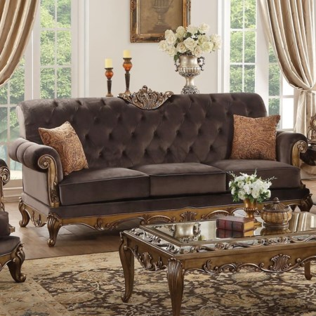 Sofa w/2 Pillows