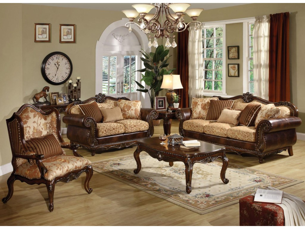Shown with Chair and Loveseat