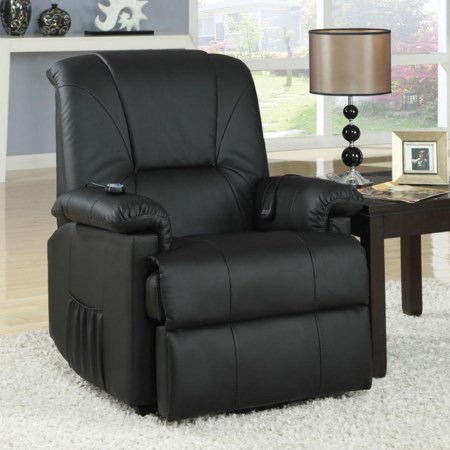 Recliner with Massage Functions