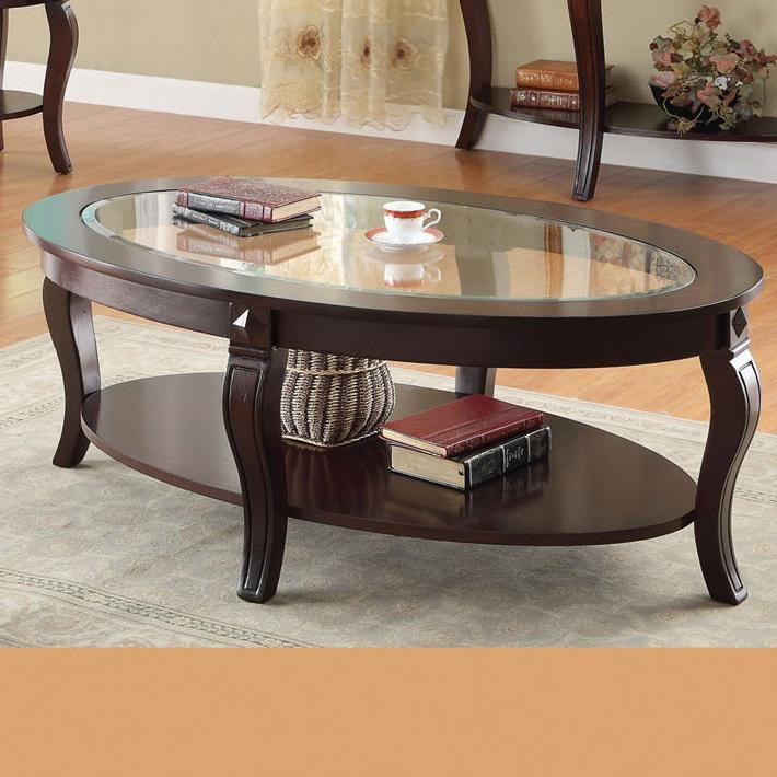 Lovely Acme Furniture RileyOval Coffee Table ...