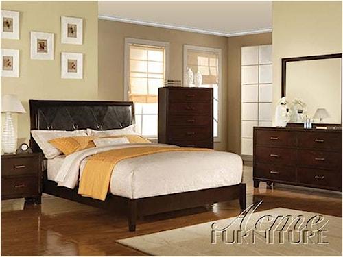 Acme Furniture Tyler 4 Piece Bedroom Set   Michael's Furniture Warehouse   Bedroom Group
